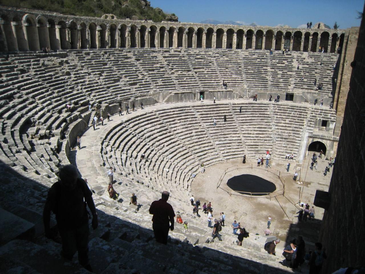 théâtre grec  Le journal de Joli Rêve