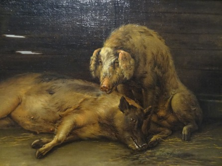 Paulus Potter, Pigs in the sty, 1649