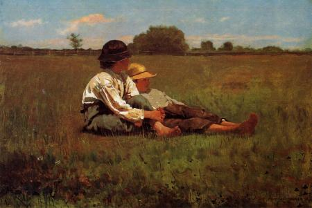 Homer_Winslow_Boys_in_a_Pasture