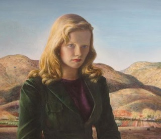 peter_hurd_portrait_de_peggy_1948