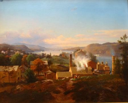 Forges de Poughkeepsie, Johann Hermann Carmiencke, 1856