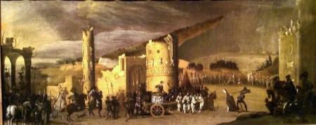 Martyrdom of St. Januarius, after about 1630. Monsù Desiderio (François de Nomé, Francesco Desiderio) active 1617-after 1631