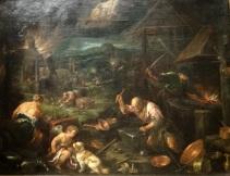 Allégorie du feu, Jacopo Bassano