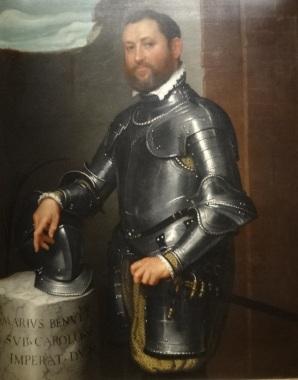 Mario Benvenuti, par Giovanni Moroni, 1560