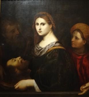 Salomé et St Jean Baptiste