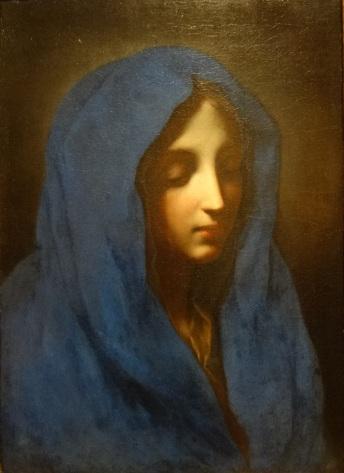 La madonne bleue
