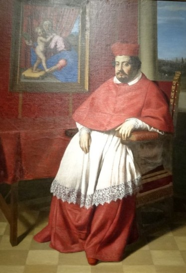Sassoferrato, Cardinal, 1651