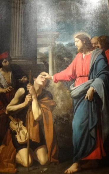 Le Christ guérissant les aveugles