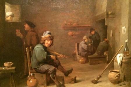 David Teniers, Joueur de violon dans une taverne, 1640