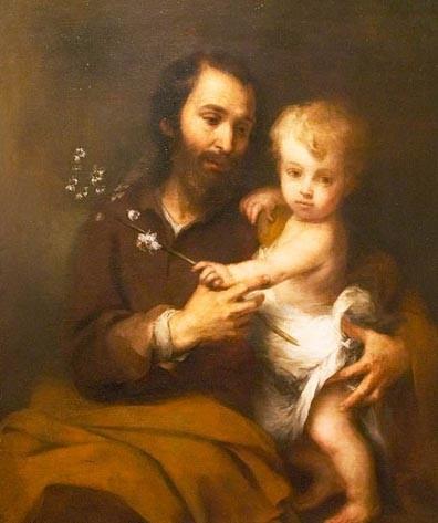 St Joseph et l'enfant, Murillo