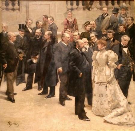 Stevens, Célébrités parisiennes, 1889
