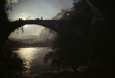Wright of Derby, Moonlight, Italian Landscape 1785