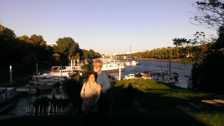 Mark et Marina, la Seine