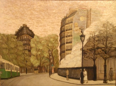 Cityscape, William Nell, 1930