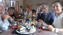 Des huîtres à Lercoul, avec Sylvie Meublat, Guy Meublat, François Nocaudie, Jean-Noël Chrisment, Roland Sabra, Myriam Barthélémy