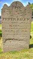 Peter Riley, 22 ans, matelot tombé du mât de son navire