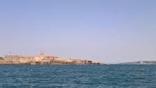 Le fort gardant l'entrée du fleuve