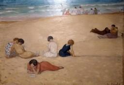 Femmes à la plage, 1927