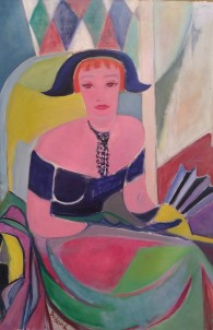 Geneviève Duboul, Portrait de Renée Aspe, 1950