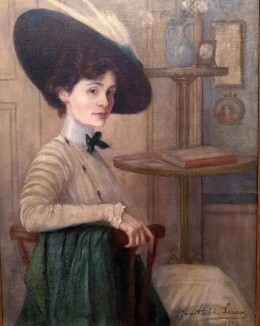 Jane Atché, Portrait, 1909