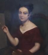 Jean-Blaise Villemsens, Jeune peintre au chevalet, 1830