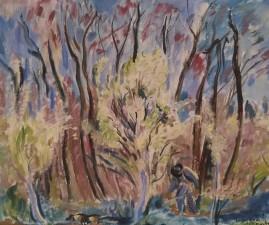 Jeanne Astre, Le jardin de l'Encastre, 1938
