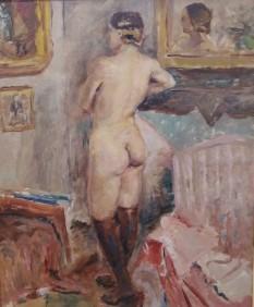 Luce Boyals, Nu aux bras marrons, 1920
