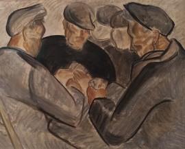 Lucie Bouniol, Joueurs de cartes, 1940