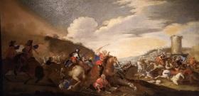 Anonyme, Bataille, 18e siècle
