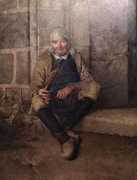 Le Vieux mendiant, Flavien-Louis Peslin