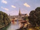 Jean Frelaut, Le port de Vannes, 1907